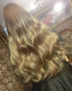Don't forget, straightening might not be beneficial for the wellness of your hair, particularly if it is extremely curly. But beware–your hair is going to be damaged! Beautiful Long Hair, Gorgeous Hair, Wavy Hair, Blonde Hair, Super Long Hair, Silky Hair, Great Hair, Hair Lengths, Hair Inspiration