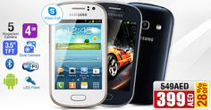 Get 24% Discount on Samsung Galaxy Fame S6810 (Dual Cam with Flash, Skype) @ AED 419! See more at ➜ is.gd/48d2ih