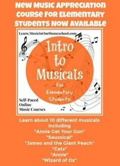 27 best annie the musical unit study images on pinterest intro to musicals for elementary students online course music in our homeschool fandeluxe Gallery