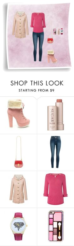 """""""Women's Day"""" by oksana-kolesnyk ❤ liked on Polyvore featuring Fresh, Chloé, WithChic and White Stuff"""
