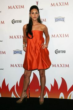 Megan Fox Photos - Actress Megan Fox attends the Maxim Hot 100 Party at the Gansevoort Hotel on May 2007 in New York City. Megan Fox Style, Megan Fox Hot, Megan Denise Fox, Star Fashion, Love Fashion, Megan Fox Pictures, Dance Hairstyles, Party Hairstyles, Bollywood Fashion