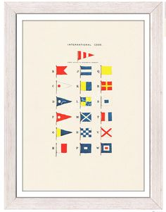 A few of my favorite things today: nautical
