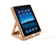Lipper International Bamboo Adjustable Ipad Stand (ad)