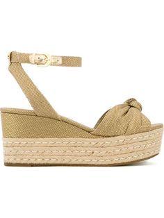 MICHAEL MICHAEL KORS Ankle Strap Sandals. #michaelmichaelkors #shoes #sandals
