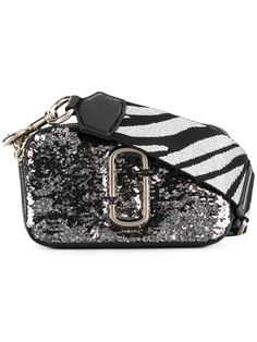 MARC JACOBS MARC JACOBS - SNAPSHOT SMALL CAMERA BAG . #marcjacobs #bags #shoulder bags #leather #metallic #