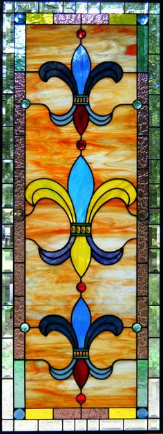 Colors of New Orleans Stained Glass - by Dean's Stained Glass