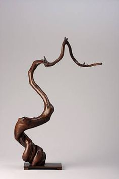 root sculpture wood