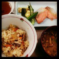 土鍋で炊き込みごはん - @ayanotch- #webstagram