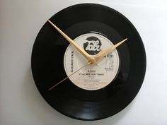 """Alexander o'neal- if you were here tonight      7"""" vinyl record clock  £7.99"""