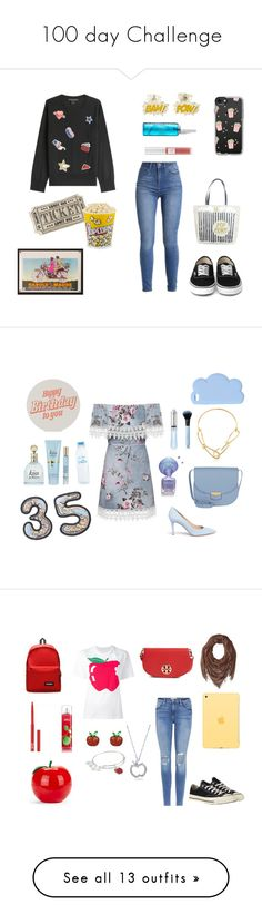 """""""100 day Challenge"""" by sofifer ❤ liked on Polyvore featuring Marc Jacobs, Kate Spade, Casetify, Cinema Secrets, Lancôme, WearAll, Gianvito Rossi, CÉLINE, Annelise Michelson and STELLA McCARTNEY"""