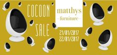 Cocoon Sale! and much more design. @ Matthys Brussels -- Halle -- 21/01-22/01