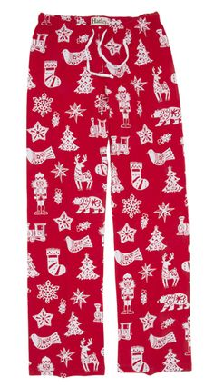 "Hatley Nature ""Bearly Sleeping"" Women's Flannel Pajama Pant in Red - The Pajama Company Flannel Pajama Pants, Pj Pants, Trousers, Christmas Pajamas, Christmas Outfits, Family Pjs, Sleeping Women, Cute Pjs, Pajamas Women"
