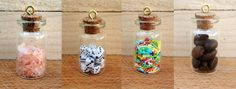 Mini bottle crafts (full tutorial on our website)
