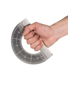 The Protractor Pizza Cutter is a pizza lovers gift that makes it easy to cut a pizza pie into six or eight pizza slices that are perfectly identical in size and shape.