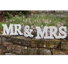 MR & MRS Wooden Letters Wedding Decoration / Present Luck Brand http://www.amazon.com/dp/B009D15NK4/ref=cm_sw_r_pi_dp_k0HEub07WGAKE