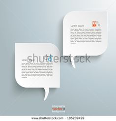 Template rectangles design on the grey background. Eps 10 vector file. - stock vector