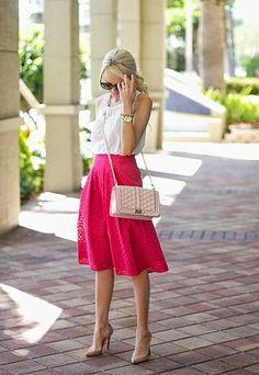 Pink Eyelet...