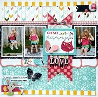 A Project by luvalotmum from our Scrapbooking Gallery originally submitted 01/07/14 at 10:20 AM