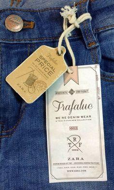 Trafaluc Zara #hangtag: