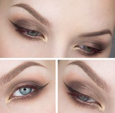 everydaymakeupfairytale How To Look Pretty, That Look, Shimmer Eye Makeup, Everyday Makeup, All About Eyes, Fairy Tales, Make Up, Naked, Beauty