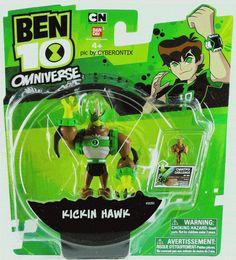 Ben 10 KICKIN HAWK Action Figure 4-inch Omniverse 2013 Bandai MIP Retired MOC #Bandai