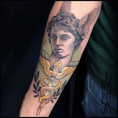 #hermestattoo hashtag on Instagram • Photos and Videos Hermes Tattoo, Sleeve Tattoos, Photo And Video, Portrait, Videos, Photos, Instagram, Tattoo Sleeves, Pictures