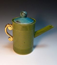 Ceramics by Andy Titcomb at Studiopottery.co.uk - 2011. Tin Can teapot
