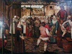 Danse des catherinettes  Auteur/exécutant  anonyme  Période création/exécution  2e moitié 16e siècle