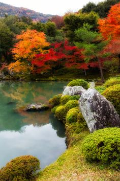 "Japanese Garden/ Photo""Reflection"" by Yoshitada Kurozumi"