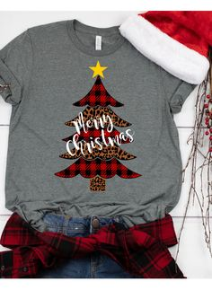 Buffalo Plaid Svg, Leopard Print Svg, by EnchantedSVG on Zibbet Christmas Vinyl, Funny Christmas Shirts, Plaid Christmas, Christmas Design, Christmas Tree, Christmas Clothes, Christmas Decor, Etsy Christmas, Cute Christmas Sweater