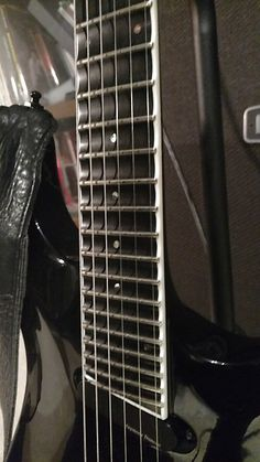 Very nice ESP Horizon FR27. Neck through, ebony fretboard, 27 fret shred machine! Sooooo nice. Active pickups. Bound fretboard. Scalloped neck from 12th fret up. Floyd Rose tremolo. ESP hard-shell case included. No issues with the guitar, it's just not my thing. This is one bad ass guitar. Make me a reasonable offer! No international shipping. \m/