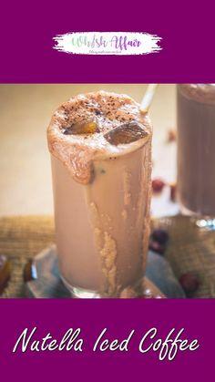 Coffee Drink Recipes, Summer Drink Recipes, Starbucks Recipes, Margarita Bebidas, Nutella Recipes, Nutella Coffee Recipe, Indian Dessert Recipes, Fun Baking Recipes, Mocca