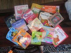 Lovely baby books.