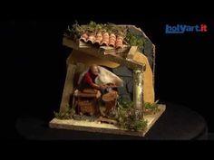 Carpintero 10 cm. movimiento belén   venta online en HOLYART