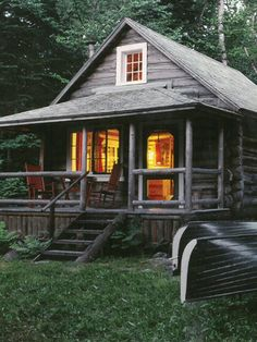 A primer on log-home living.