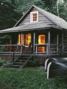 A primer on log-home living.