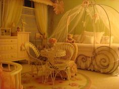 Victoria's Enchanted Room, Girl's Dream Room. It's a unique room that any little girl will love. It's beautiful and functional as well., Girls' Rooms Design