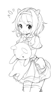 Pin af frostmourne på sketch эскиз аниме, рисунки og аниме арт в яндекс. Anime Drawings Sketches, Anime Sketch, Kawaii Drawings, Colorful Drawings, Cute Drawings, Kawaii Anime Girl, Kawaii Art, Anime Art Girl, Manga Art