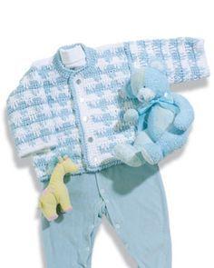 Crochet Baby Cardigan Pattern- free crochet patterns