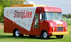 StoryLine bus design. A mobile recording studio to share your stories.