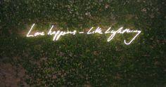 Tracey Emin - garden neon