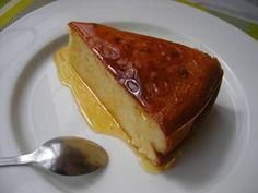 Pastel de queso en microondas