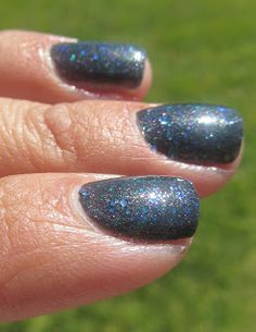 My Nail Polish Obsession: ellagee Welcome, Foolish Mortals