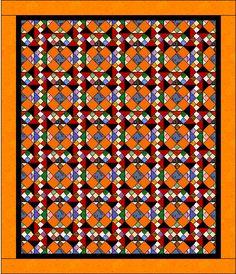 Quiltville's Quips & Snips!!: Orange Crush Mystery Quilt