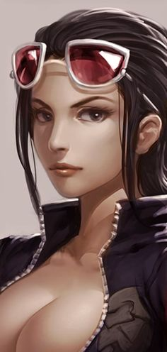 ONE PIECE realistic robin fan art