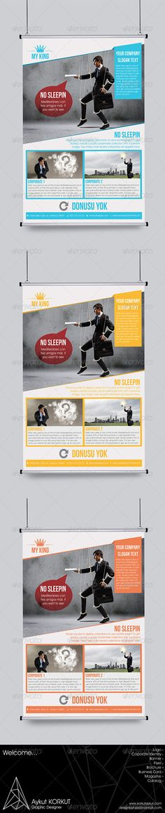 My King Flyer Template - Corporate Flyers