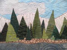 Creative Inspiraciones: Evergreen trees done