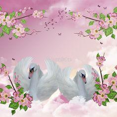 Fantasy Swan Art