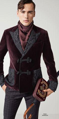 Dolce & Gabbana FW2015 Menswear Collection | Men's Fashion | Menswear | Moda Masculina | Shop at designerclothingfans.com