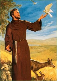 """""""Spread the Gospel wherever you go...use words if necessary."""" - St. Francis of Assisi"""